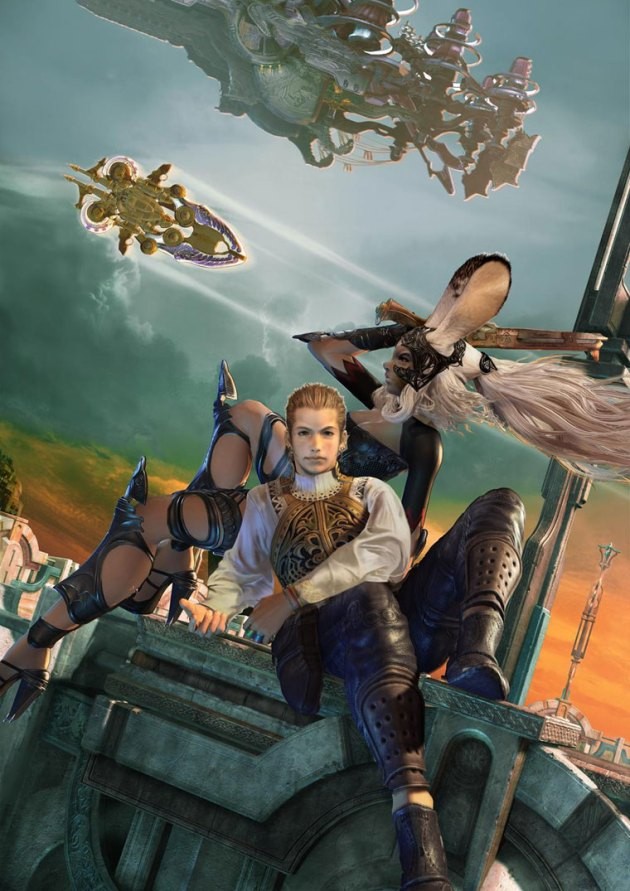 Fran and Balthier (Final Fantasy XII)