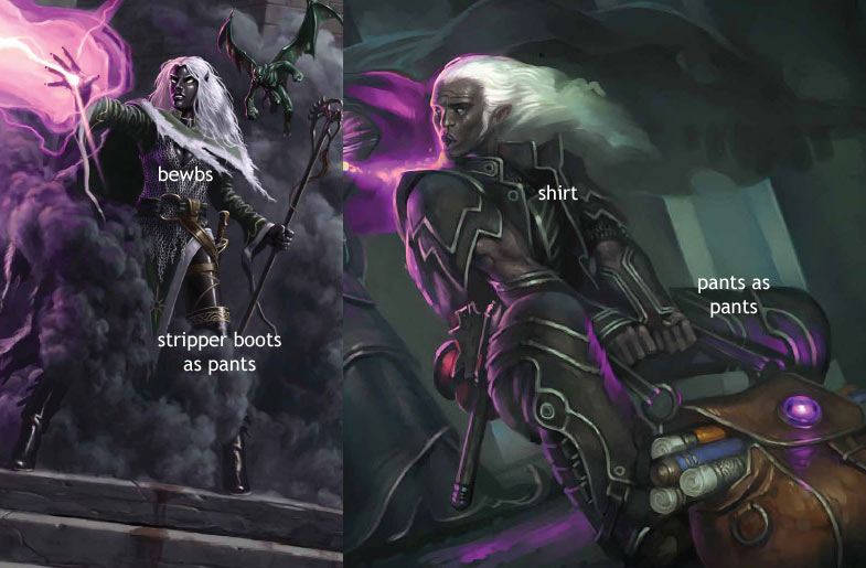 Drow female sex