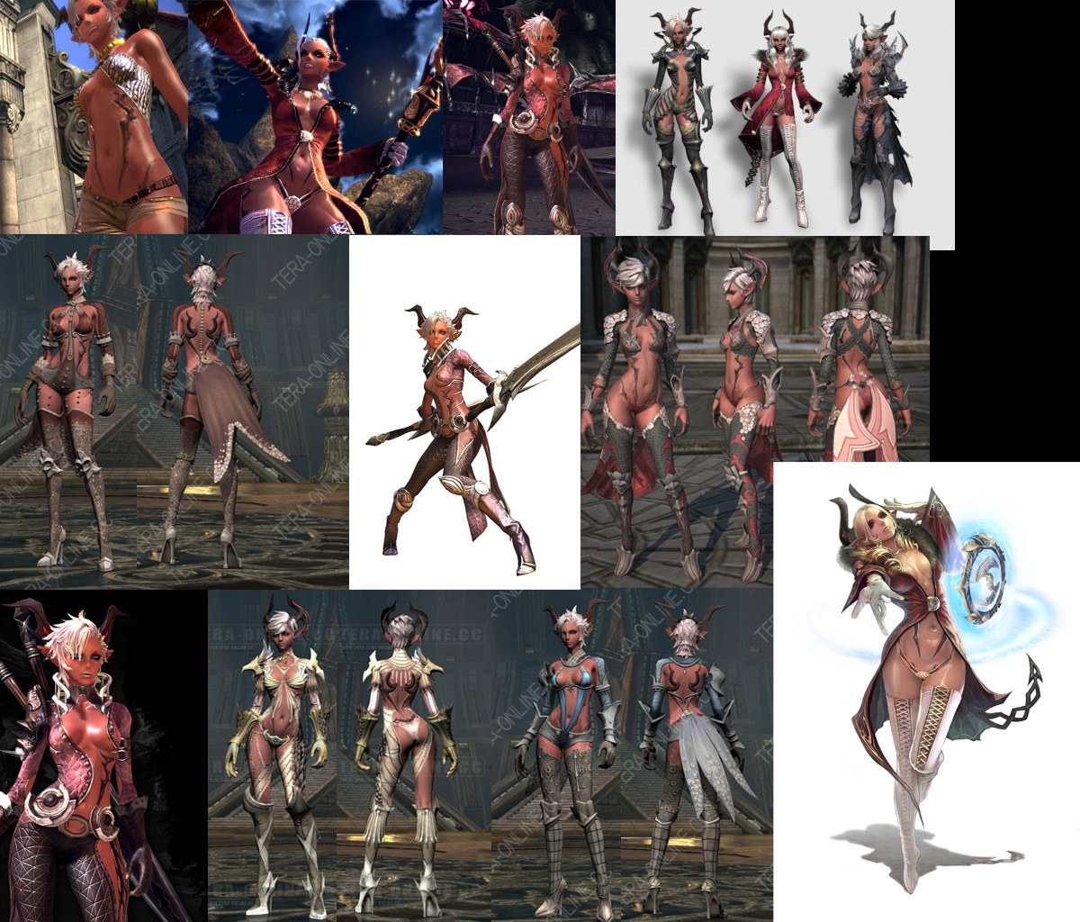 Tera high elf female nude