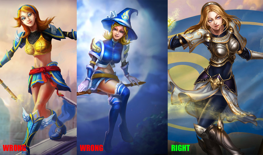 Legends skins lux of league