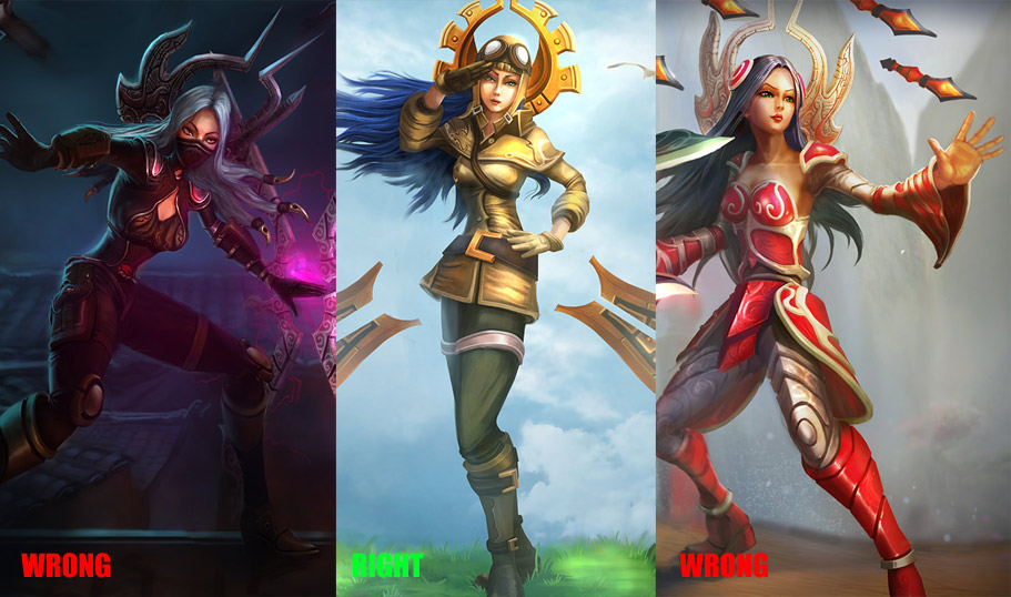 League Of Legends SO MUCH Character Design Fail