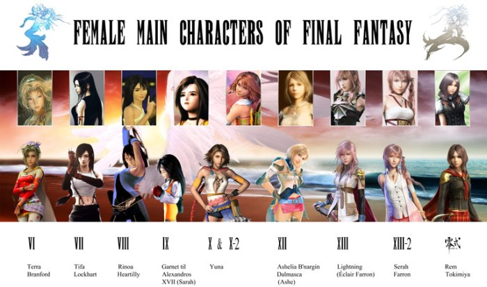 female_main_characters_of_final_fantasy_by_davienvalentine-d4gcdd2