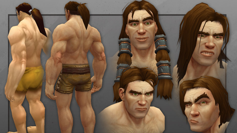 New WoW models: Men get character, women get vapid beauty [MANY IMAGES