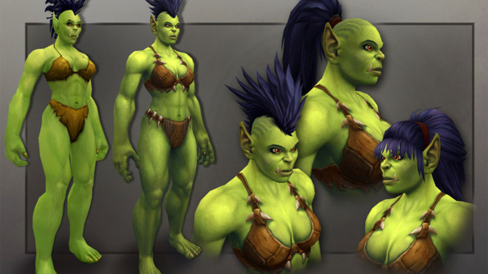 World of warcraft female characters naked