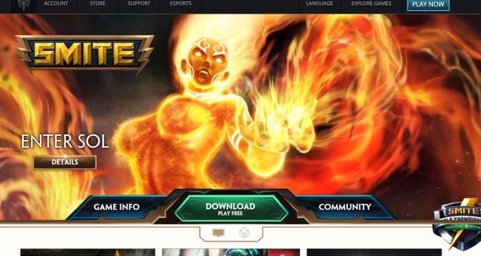 Smite-Website